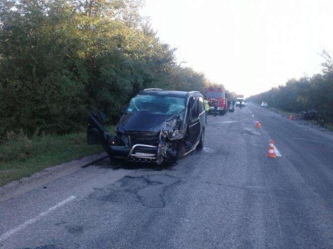 Масштабное ДТП на Запорожье - погибли несколько человек (1)