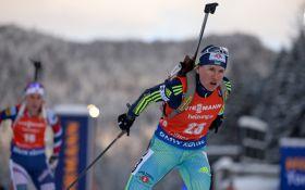 Украина в драматической эстафете упустила медаль на Кубке мира по биатлону