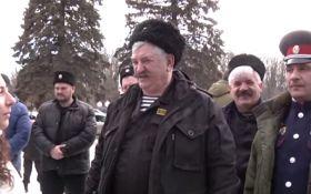 В сети посмеялись над казаком, который собрался воевать на Донбассе: опубликовано видео