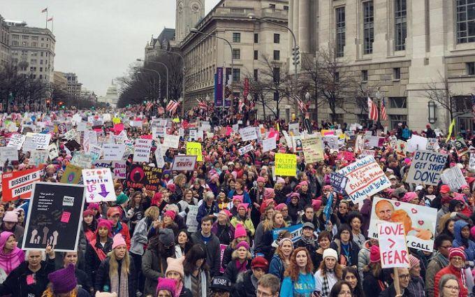 После протестов вВашингтоне задержаны неменее 200 человек