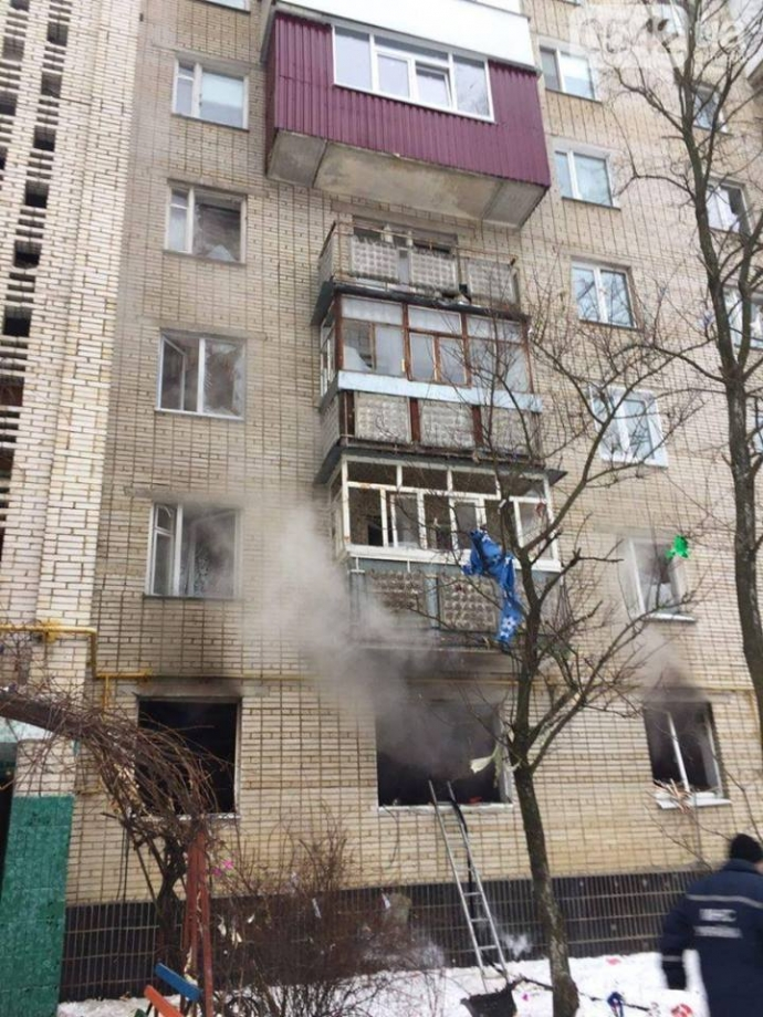 Взрыв квартиры в Сумах: появились фото и видео (11)