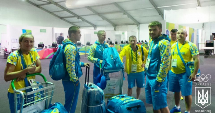 Олімпіада-2016: третій український десант висадився в Ріо - опубліковані фото (1)