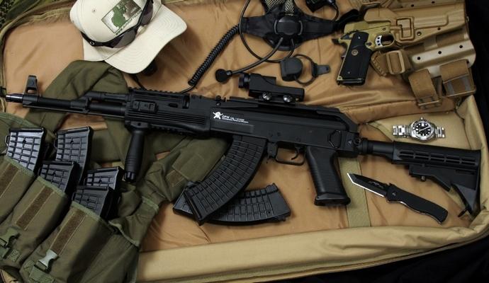 У полицейского из Славянска изъяли оружие - СБУ