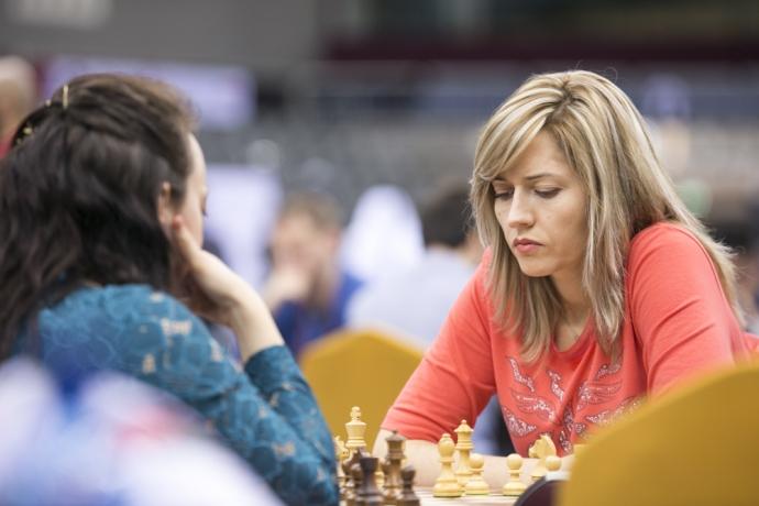 Украинка одержала самую важную победу над россиянкой начемпионате мира пошахматам