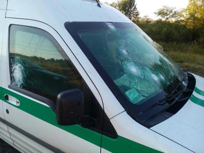 У Запорізькій області розстріляли машину інкасаторів: з'явилися фото і подробиці (1)