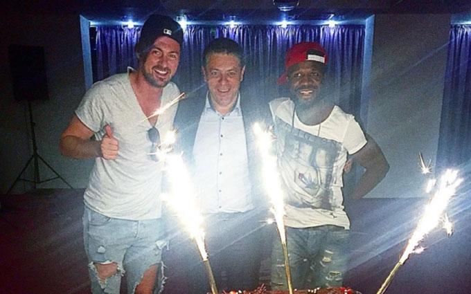 Мілевський попрощався з румунським клубом: опубліковані фото і відео