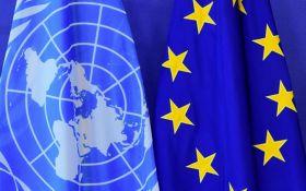 ЄС та ООН підписали багатомільйонну угоду щодо підтримки Донбасу