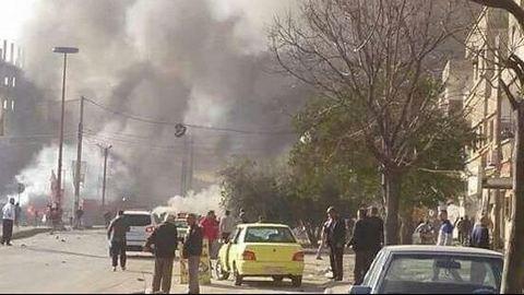 В Сирии произошел взрыв, десятки погибших: фото с места событий (2)