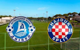 Днепр - Хайдук: онлайн видеотрансляция матча