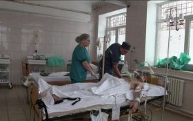 Штаб АТО показал раненого вражеского диверсанта, захваченного в плен