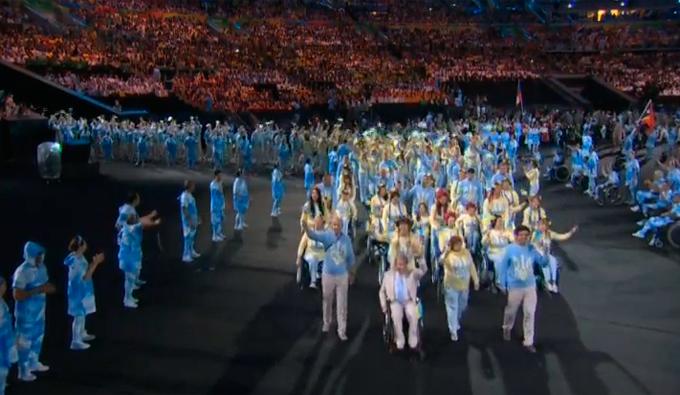 Церемония открытия Паралимпиады-2016: фото и видео из Рио (43)