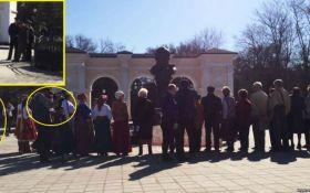 Акция в честь Шевченко в Крыму: оккупанты опозорились, появилось фото