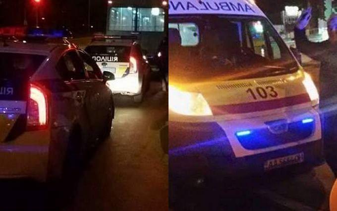 В Киеве пьяные пассажиры устроили кровавую драку в общественном транспорте