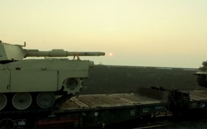 Танки США уже прибыли в Румынию: опубликовано видео