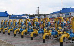 Украина сильно сократила запасы газа в подземных хранилищах