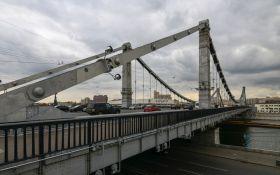 Скандальный Крымский мост закрыли из-за серьезного инцидента