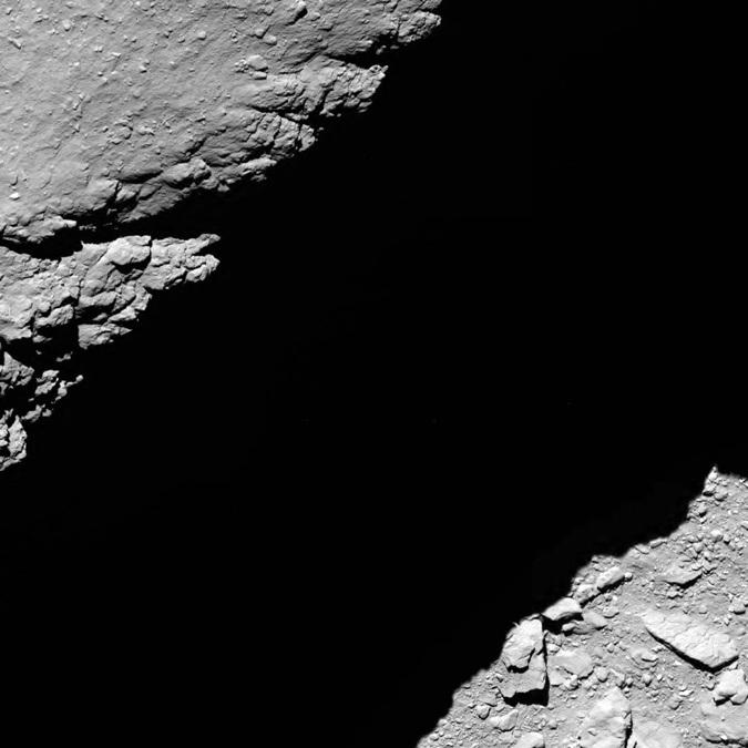 Знаменитий космічний зонд розбився об комету: з'явилося яскраве відео (1)