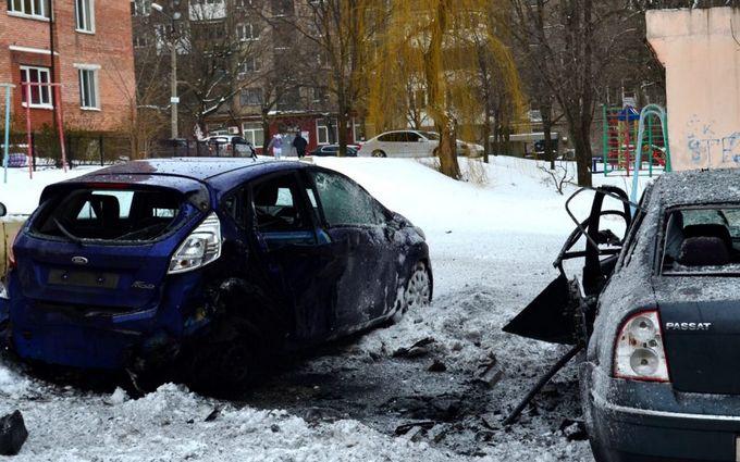 У центрі Донецька пролунав потужний вибух, є постраждалі: з'явилося відео