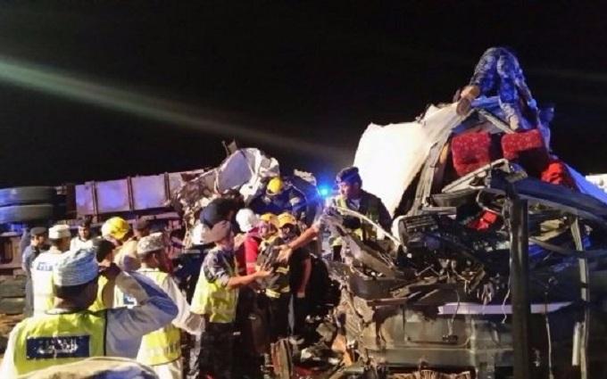 В Омане произошло крупное ДТП: есть жертвы