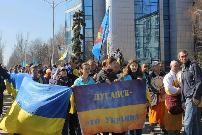 Кто и как сдал России Луганск - воспоминания волонтера о