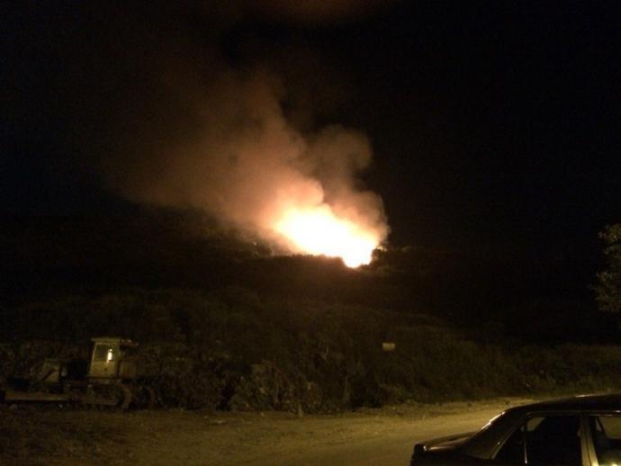 На скандальному звалищі під Львовом знову пожежа: опубликовані фото (1)