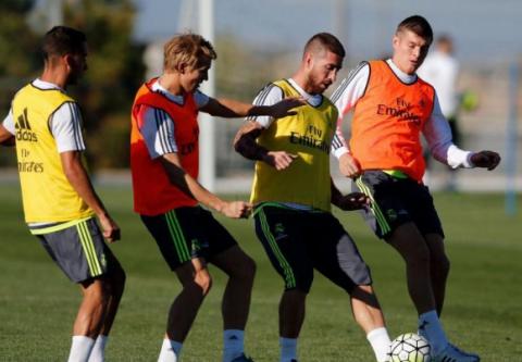 Серхіо Рамос повернувся до тренувань в загальній групі