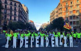 Независимость Каталонии вышло поддержать около миллиона человек: появились фото