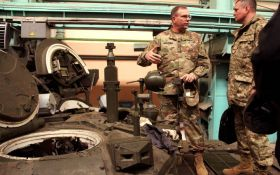 Украина готовится уничтожать российские танки без оружия из США - The Wall Street Journal