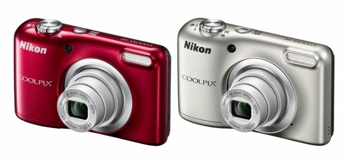 Компания Nikon представила два фотокомпакта начального уровня Coolpix A100 и A10