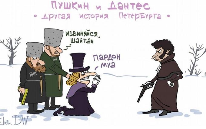 Міст Кадирова в Петербурзі: відомий карикатурист видав їдкий малюнок