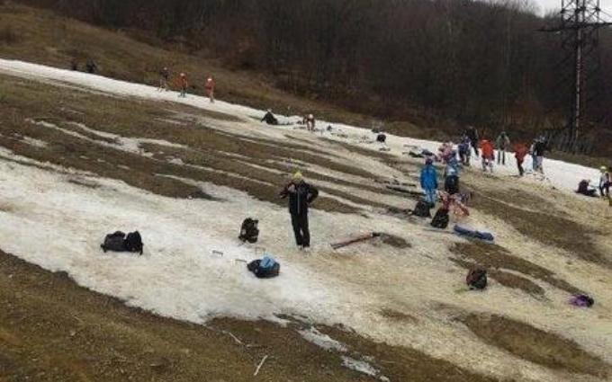 Это провокация: лыжные чиновники сделали заявление по скандалу со снегом. Опубликовано видео