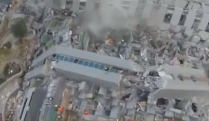 При землетрясении в Тайване погибли минимум семь человек (видео)