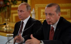 Эрдоган осудил Путина за нападение на Украину в Азовском море