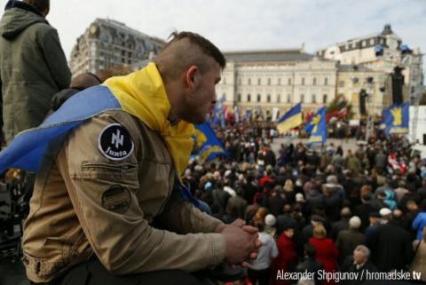 Марш Героїв: як розгорталися події в центрі Києва (оновлюється)