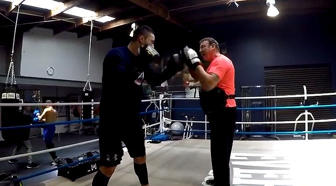 Підготовка Джозефа Паркера до бою з Джейсоном Бергманом (відео)