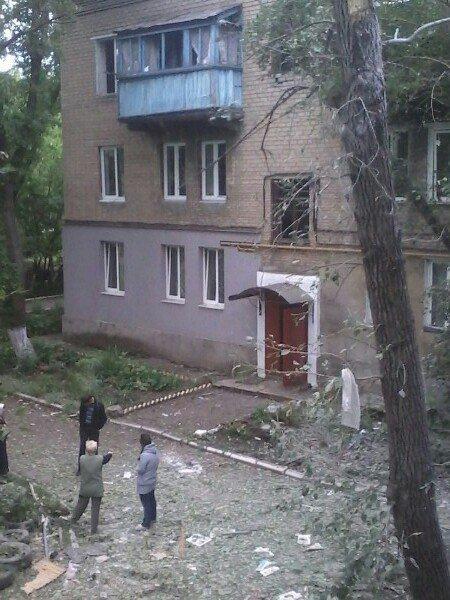 У мережі з'явилися фото і відео наслідків обстрілу Донецька (1)
