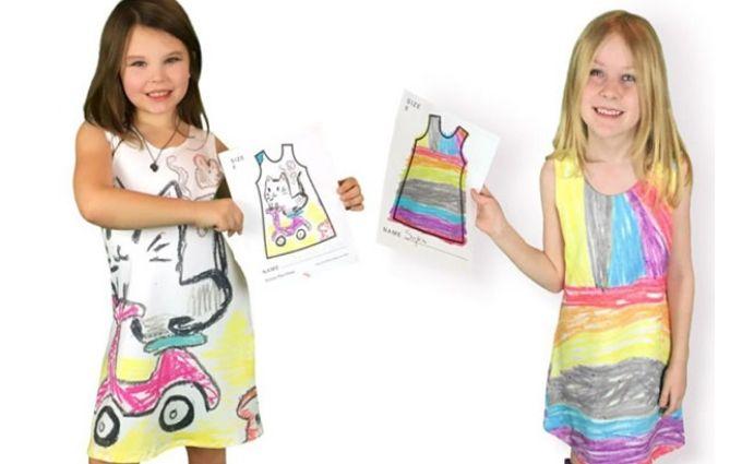 У детей появилась возможность самим создавать дизайн своей одежды: опубликованы фото
