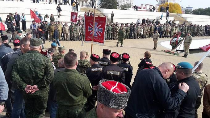 В Україні тонко висміяли з'їзд бойовиків з Донбасу в Росії: з'явилися фото і відео (1)