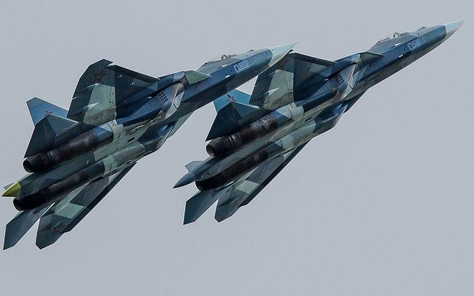 В Сирии заметили новые истребители РФ: опубликовано видео