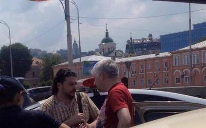 У Києві п'яний священик влаштував ДТП: опубліковані фото