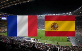 Франция - Испания - 0-2: онлайн матча
