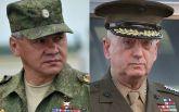 Министры обороны США и России: в сети четко показали разницу