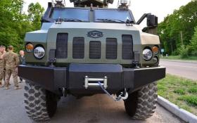 Новый украинский броневик: в сети появились фото и характеристики