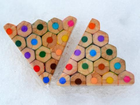 Чеська майстриня оригінально використовує олівці не за призначенням (10 фото) (10)