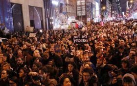 У США заарештовані десятки протестувальників проти Трампа