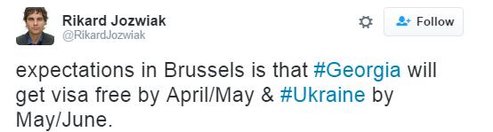 В ЕС названы новые сроки безвиза для Украины (1)