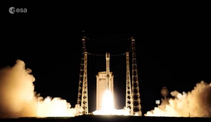 ESA опубликовало видео подготовки и запуска космического зонда