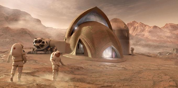 3D-дома для астронавтов: в NASA показали, какое жилье построят на Марсе (4)