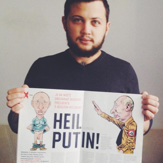 Европейский журнал выдал очень жесткую карикатуру на Путина: опубликовано фото (1)