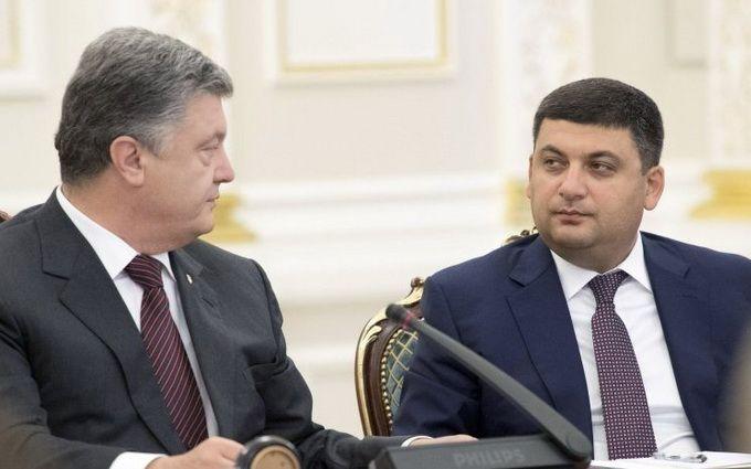 Между Гройсманом и партией Порошенко разгорелся конфликт